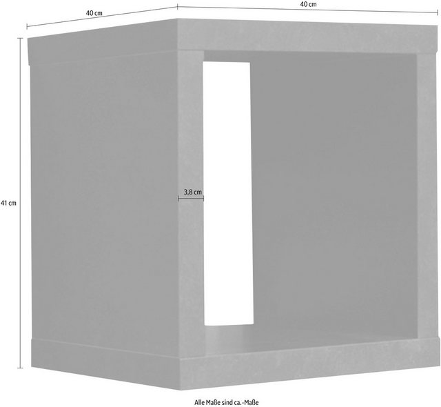 Regale - Wandregal »Big System Office«, Breite 40 cm  - Onlineshop OTTO