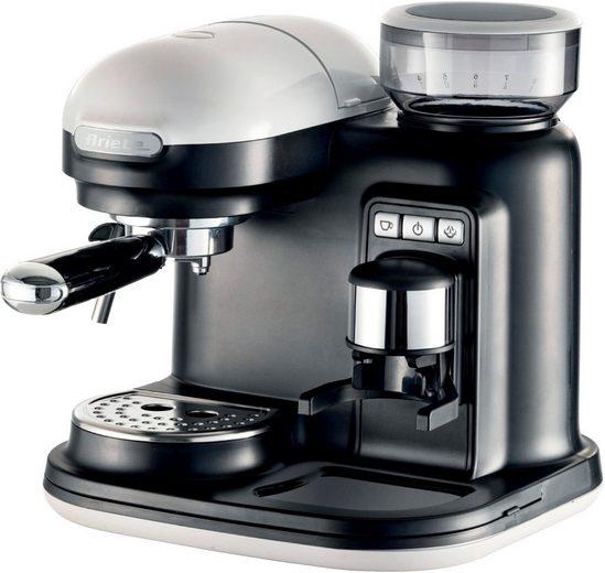 Ariete Espressomaschine 1318WH moderna schwarz-weiß