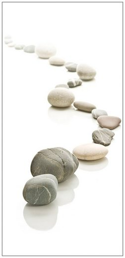 MySpotti Spritzschutz »fresh F3 Stone Path«, 100 x 210 cm
