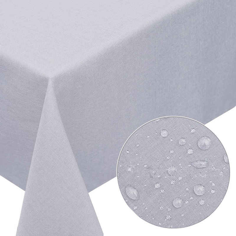 Melody Gartentischdecke »Leinen-Optik Tischdecke abwaschbar mit Fleckschutz«