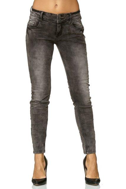 Hosen - SUBLEVEL High waist Jeans »2603« Damen Jeans MILIA › grau  - Onlineshop OTTO