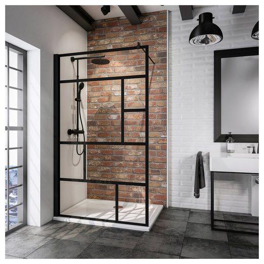SCHULTE Walk-In Dusche »Alexa Style 2.0«, Breite 90 cm