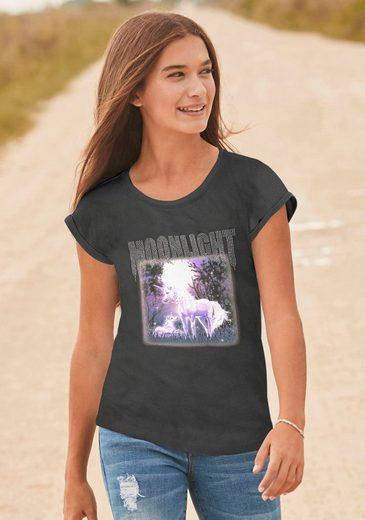 Arizona T-Shirt »MOONLIGHT« in legerer Passform