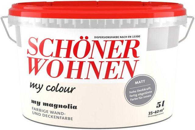 Schöner Wohnen Innenfarbe my colour, magnolia