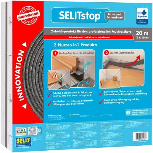 SELIT Dichtband »SELITstop«, mit integriertem Distanzband