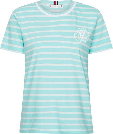 TOMMY HILFIGER T-Shirt »TH COOL ESS RELAXED GRAPHIC TEE« mit Tommy Hilfiger Logo-Print