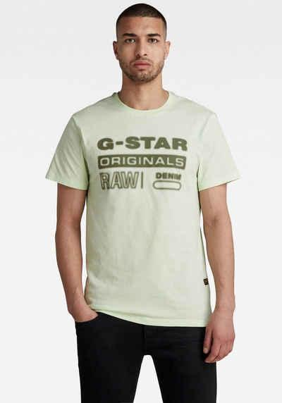 G-Star RAW Rundhalsshirt »Originals hd graphic«