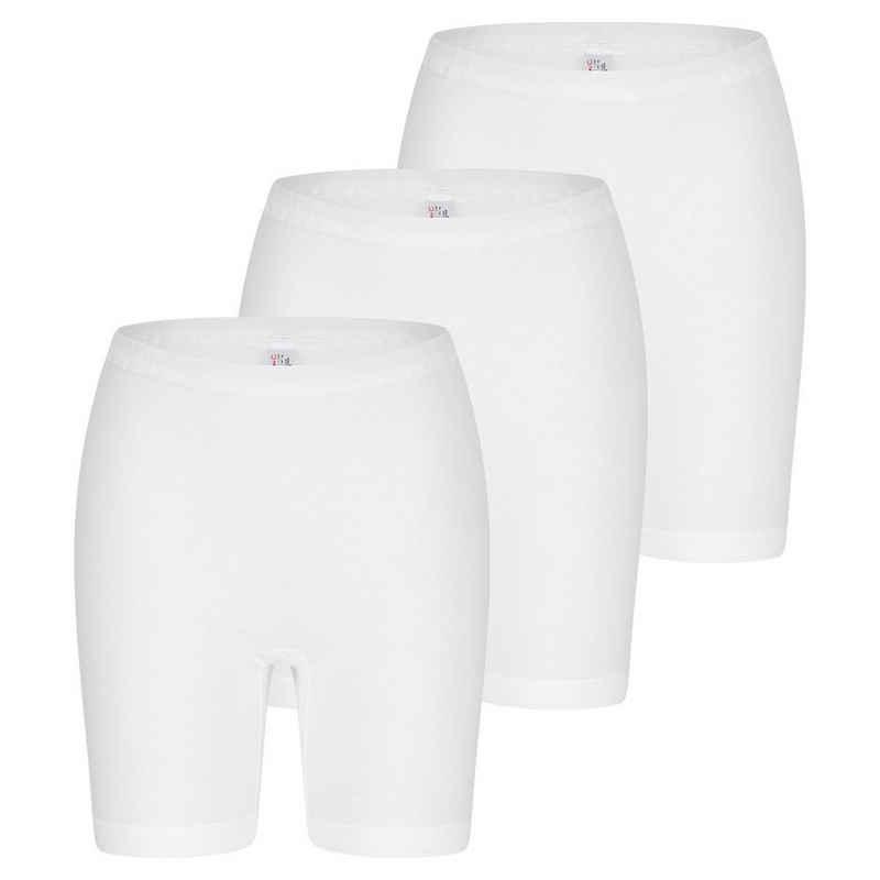 Nina Von C. Lange Unterhose »3er Pack Daily« (3 Stück) Langbeinschlüpfer - Im klassischen Design, Perfekte Passform, Angenehm auf der Haut