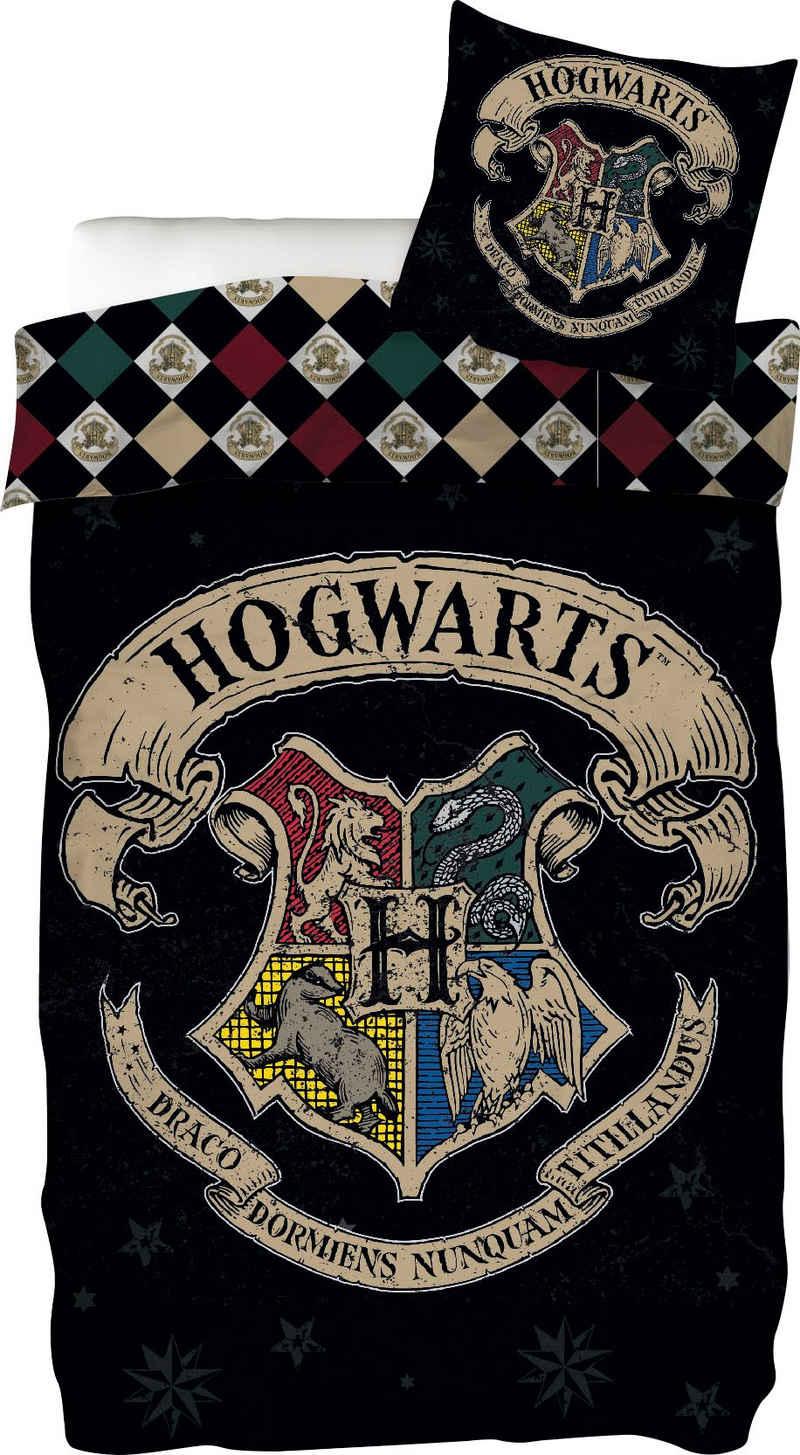 Wendebettwäsche »Siegel«, Harry Potter, mit Hogwarts-Siegel
