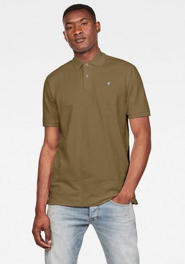 G-Star RAW Poloshirt »Dunda Polo« Logostickerei auf der Brust