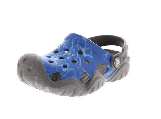 Crocs »SWIFTWATER GRAPHIC CLOG« Clog Mehrfarbig (Multi-color Blue)