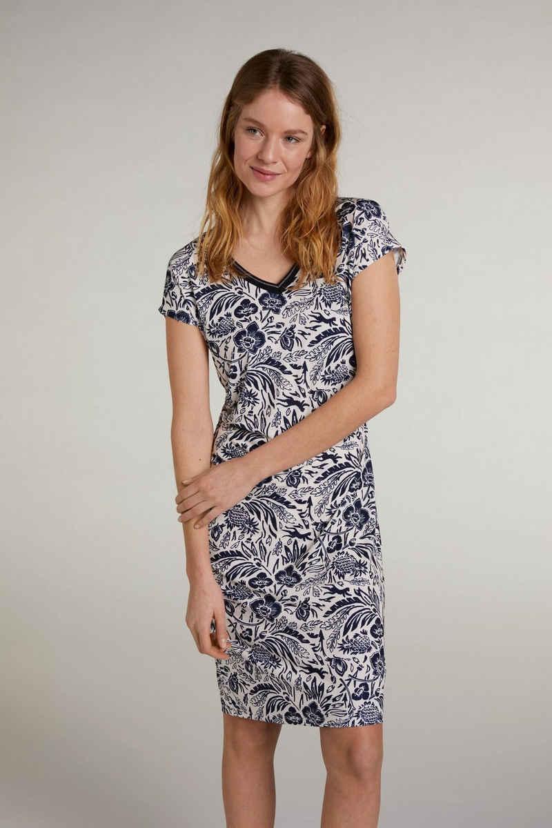 Oui Sommerkleid »Kleid im angesagtem Print«