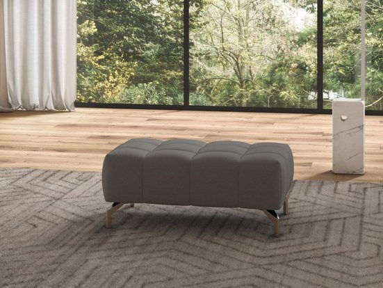 sit&more Hocker »Cool«, mit silberfarbenen Füßen