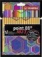 STABILO Dekorierstift »Fineliner point 88 ARTY, 18 Farben«, Bild 1