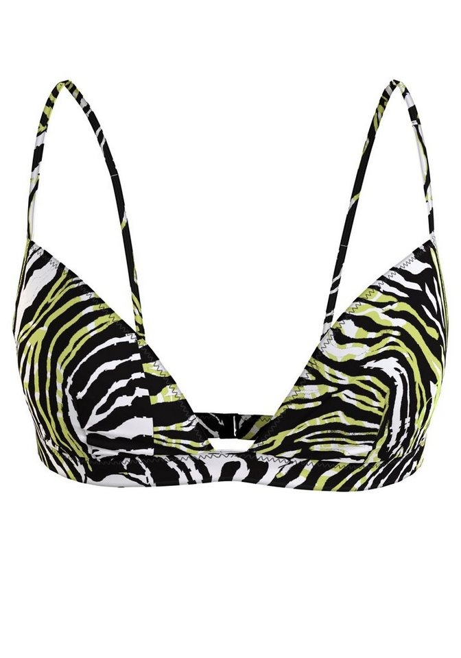 Bademode - Calvin Klein Triangel Bikini Top, im Zebra Look ›  - Onlineshop OTTO