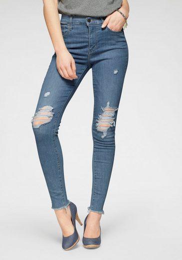Levi's® Skinny-fit-Jeans »720 High Rise Super Skinny« mit Destroyed-Effekten