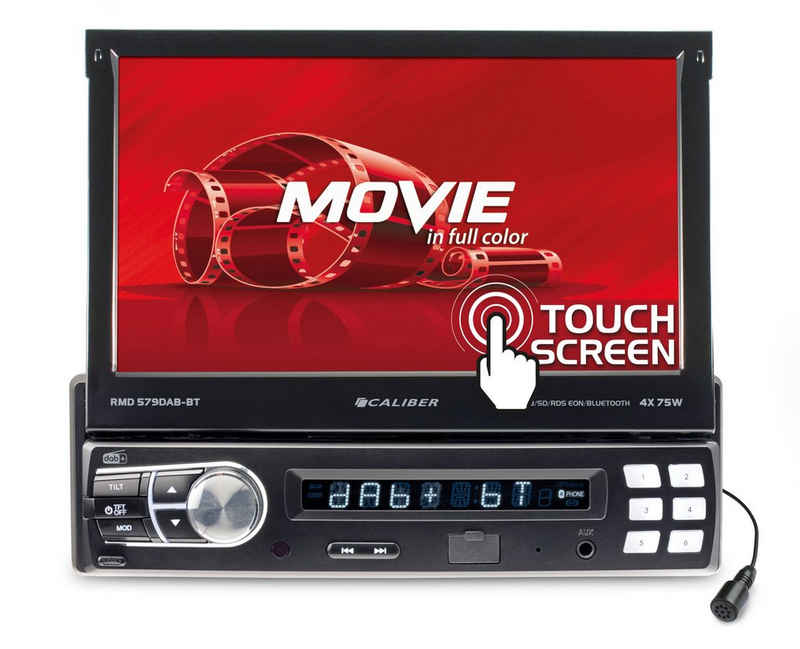 Caliber »Audio Technology Autoradio RMD579DAB-BT Moniceiver DAB+ Tuner, Bluetooth®-Freisprecheinrichtung« Autoradio