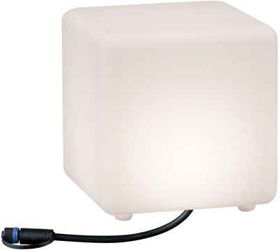 Paulmann LED Würfel »Outdoor Plug & Shine Lichtobjekt Cube«, IP67 3000K 24V