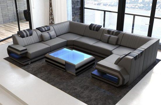 Sofa Dreams Sofa »Ragusa«, U Form