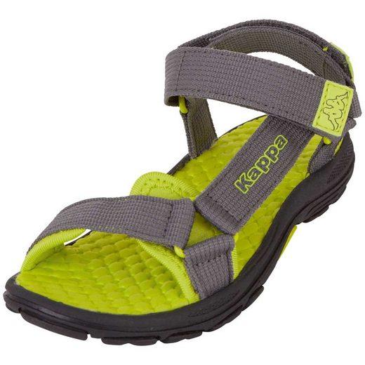 Kappa »MORTARA KIDS« Sandale zwei Klettverschlüsse für optimale Weitenregulierung