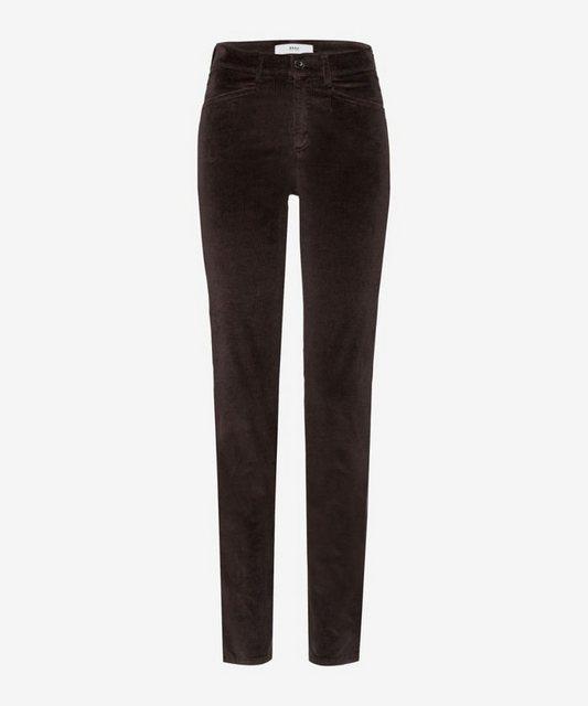 Hosen - Brax 5 Pocket Hose »Style Shakira« › braun  - Onlineshop OTTO