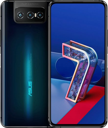 Asus Zenfone 7 Smartphone (16,94 cm/6,67 Zoll, 128 GB Speicherplatz, 64 MP Kamera)