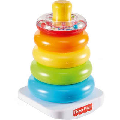 Mattel® Stapelspielzeug »Fisher-Price Farbring Pyramide, Steckspiel-Zeug,«