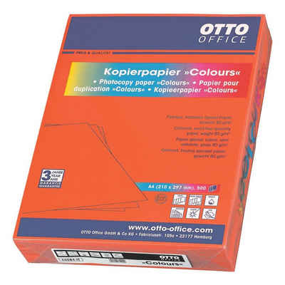 Otto Office Drucker- und Kopierpapier »COLOURS«, Intensivfarben, Format DIN A4, 80 g/m²