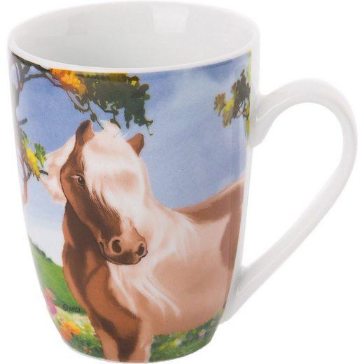 Nici Tasse »Porzellantasse Pony Lorenzo in Geschenkverpackung,«
