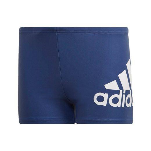 adidas Performance Badehose »Badge of Sport Boxer-Badehose«
