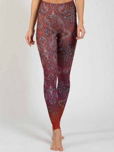 Magadi Leggings »Ornament« aus Komfort-Stretch mit Tasche