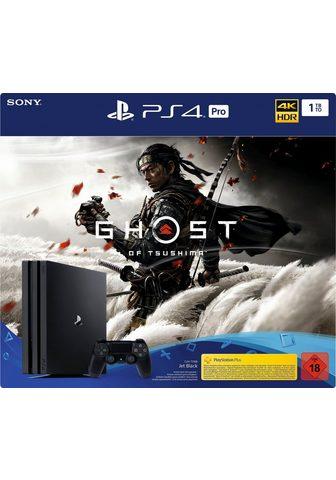 PlayStation 4 Pro 1TB ir Ghost of Tsushima