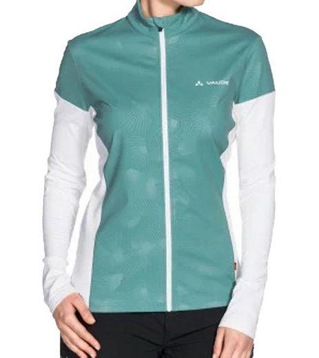 VAUDE Funktionsjacke »VAUDE Wo All Year Moab Funktions-Jacke komfortable Sport-Jacke Rad-Trikot für Damen Radsport Grün/Weiß«