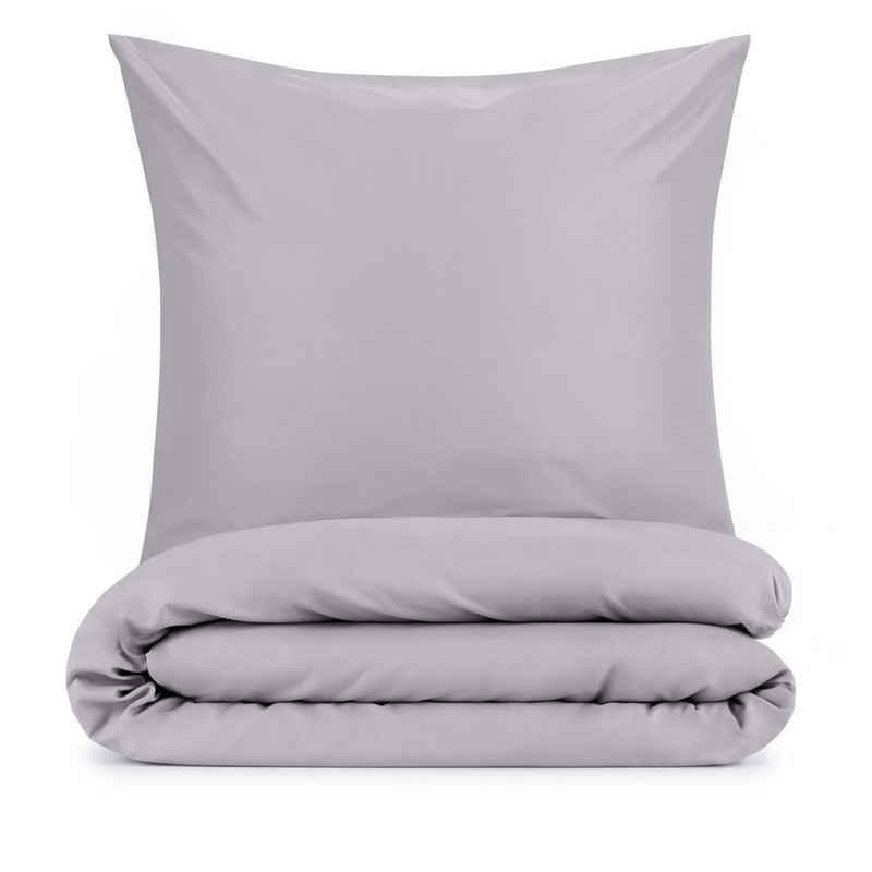 Bettwäsche »Mikrofaser Bettwäsche + Kissenbezug - Superweiches Bettbezug Set«, Blumtal, Faltenfrei