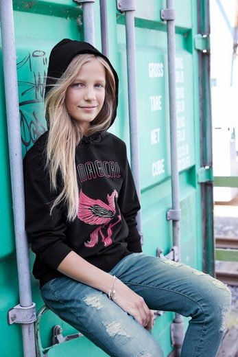 Arizona Kapuzensweatshirt »BE MAGICAL« Be Magical Druck
