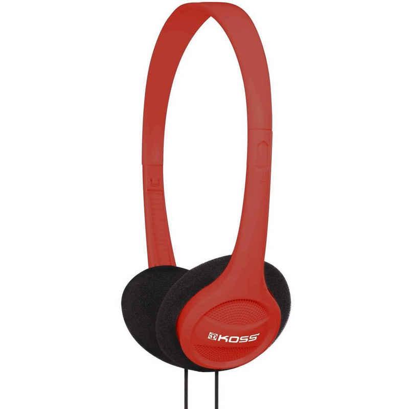Koss »KPH7r - rot« On-Ear-Kopfhörer