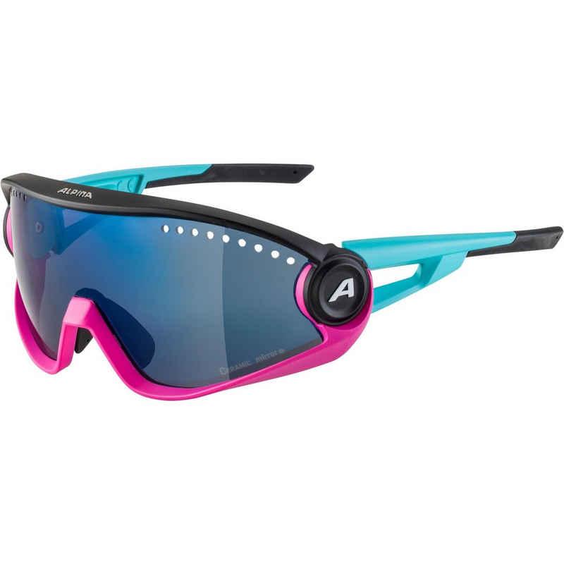 Alpina Sportbrille »5W1NG CM+«, Ventilationssystem,verspiegelte Gläser