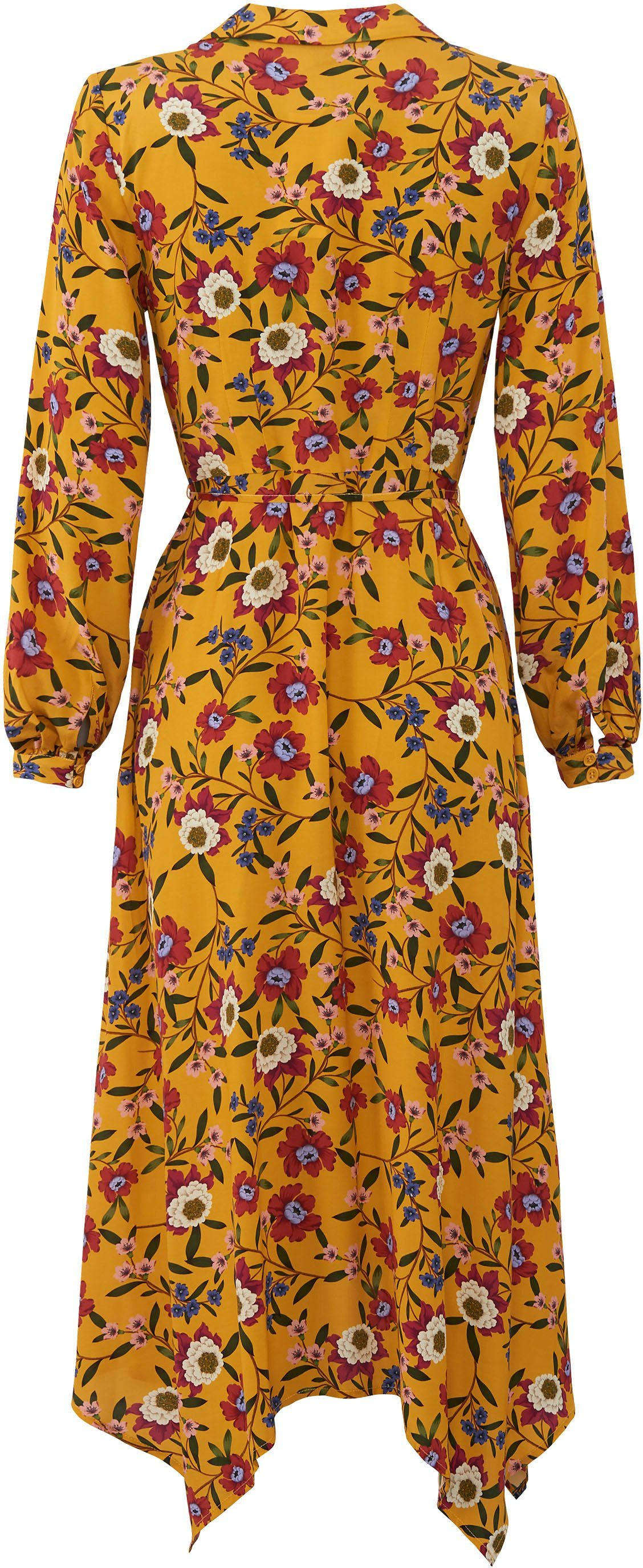 French Connection Blusenkleid Eloise im Blüten- Design