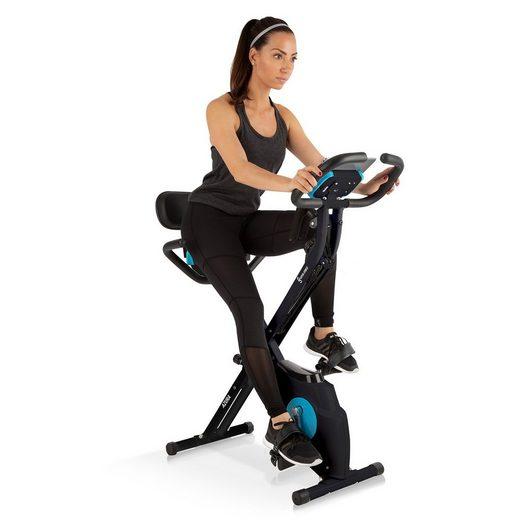Capital Sports Fahrradtrainer »Azura M3 Pro Heimtrainer, flexible Zugbänder, Riemenantrieb, schwarz«