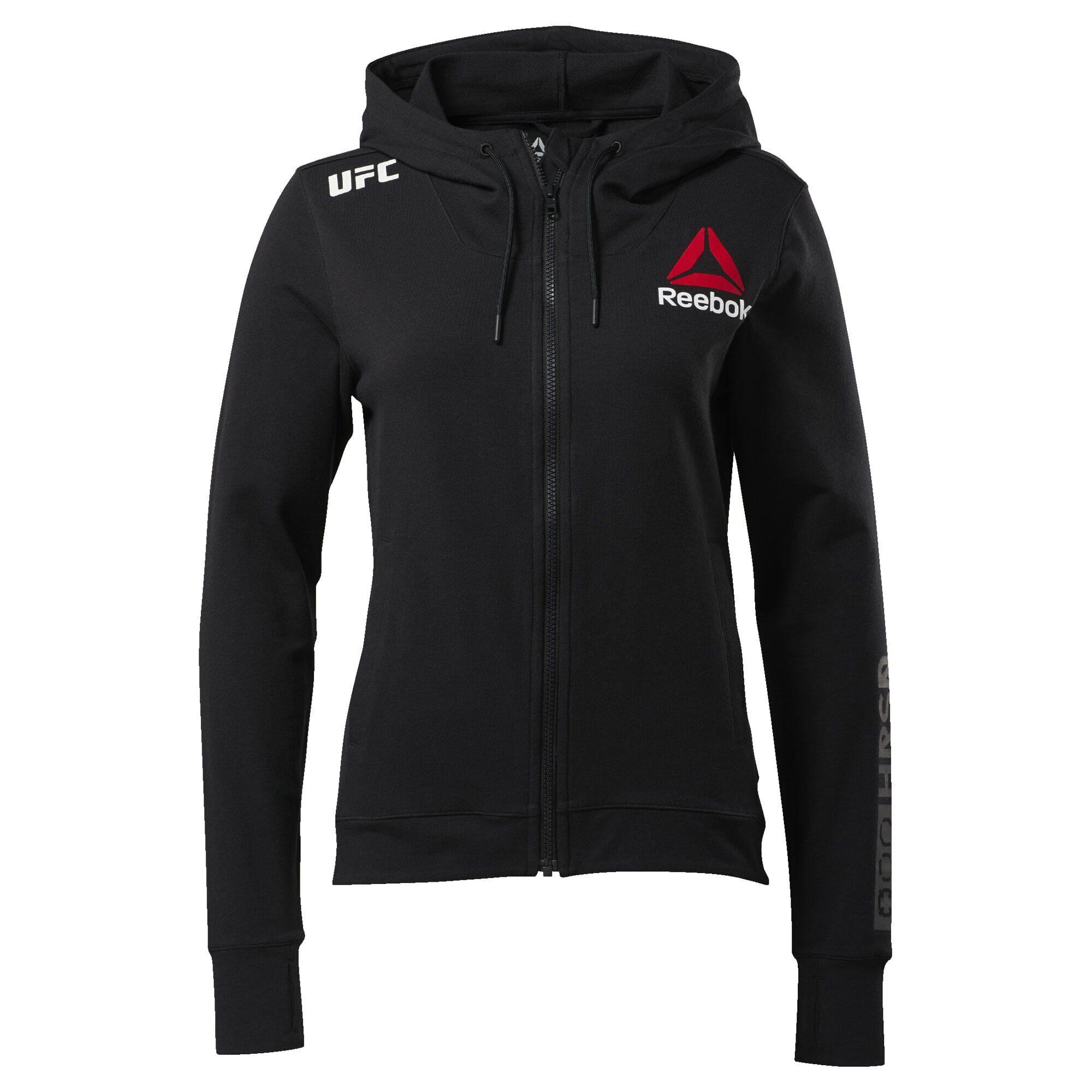 Reebok Kapuzensweatjacke »UFC Fight Night Blank Walkout