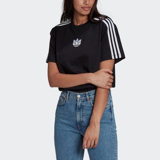 adidas Originals T-Shirt »ADICOLOR 3D TREFOIL LOOSE«