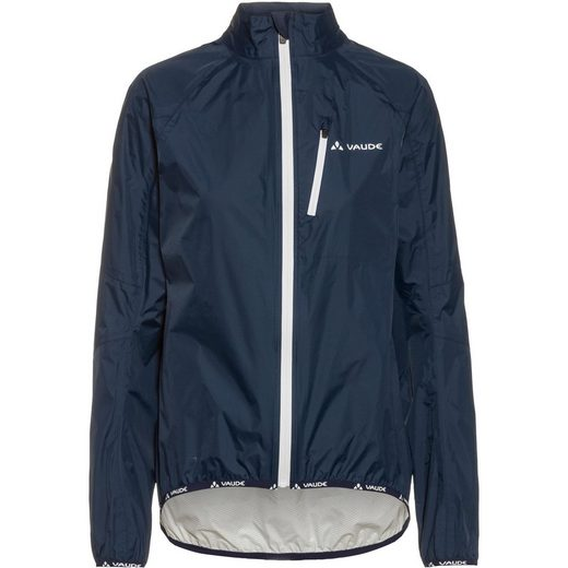VAUDE Fahrradjacke »Drop Jacket III« Fair Wear Foundation,Green Shape