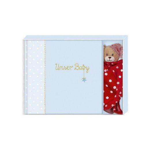 Coppenrath Album »BabyGlück: Unser Baby (hellblau), Geschenkset«