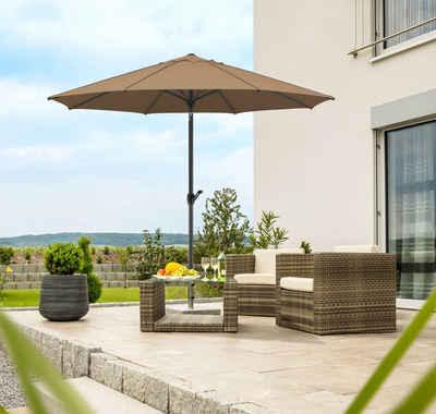 Schneider Schirme Sonnenschirm »Adria«, LxB: 300x300 cm, abknickbar, ohne Schirmständer