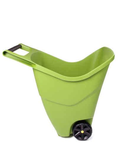 ONDIS24 Schubkarre »Gartenschubkarre 85 L Trolley mit Griff Zweirad Kunststoff Outdoor«, 85 liter