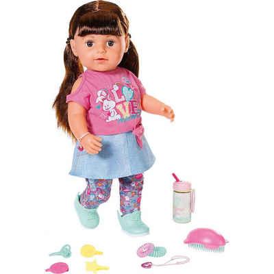 Zapf Creation® Babypuppe »BABY born® Soft Touch Sister brünett 43 cm in«