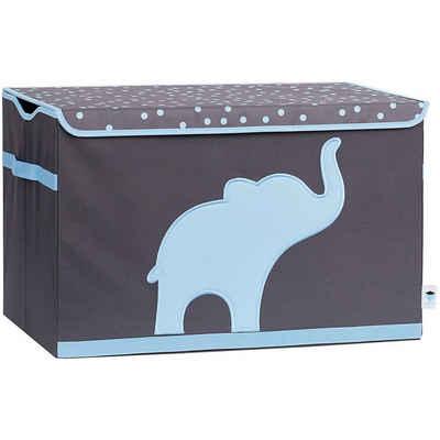 STORE IT! Aufbewahrungsbox »Spielzeugtruhe Stern, grau/weiß«