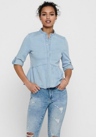 Only Jeansbluse »ONLCHICAGO« su Volant