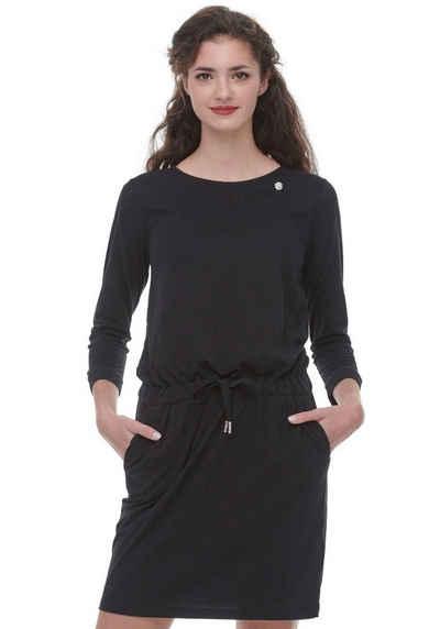 Ragwear Jerseykleid »MASCARPONE LONG« mit Ragwear-Metal-Label