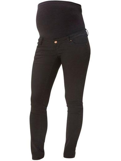 Mamalicious Umstandshose »3105« Mamalicious Skinny Umstandshose Chino Jeans mit Baucheinsatz